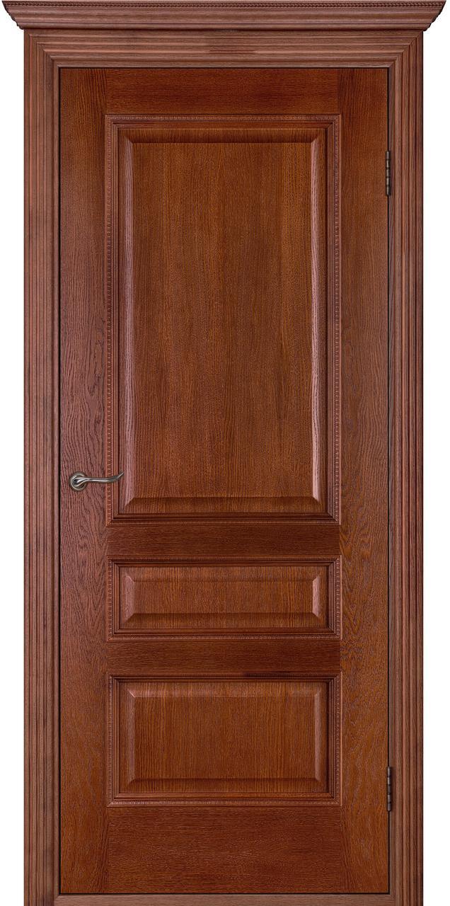 Межкомнатная дверь Вена каштан ПГ