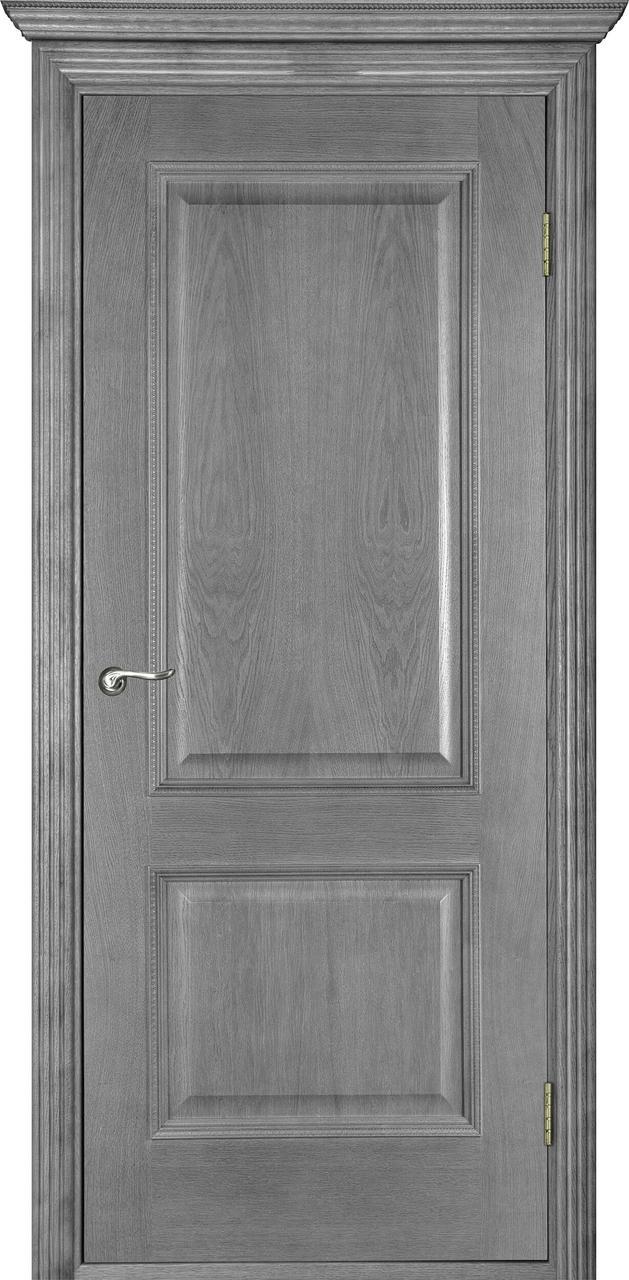 Межкомнатная дверь Гранд серый ясень ПГ
