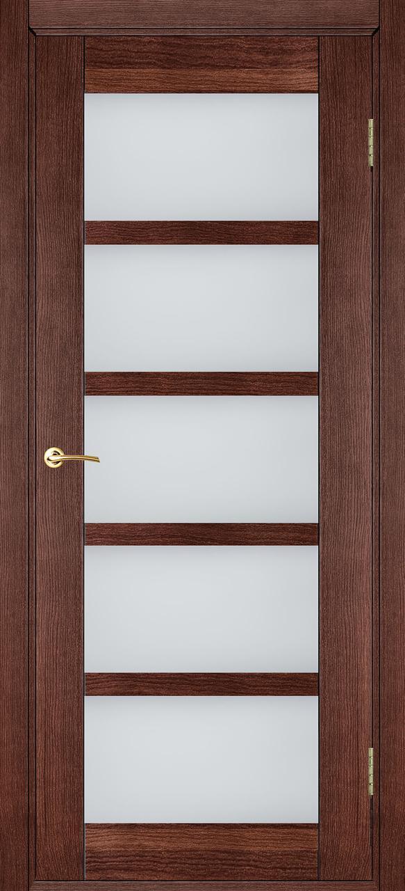 Межкомнатная дверь Бристоль темный орех ПО