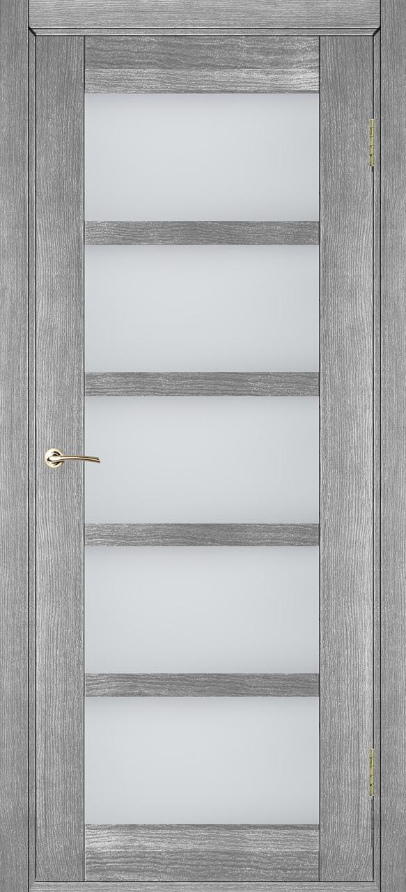 Межкомнатные двери Бристоль-У серый дуб ПО