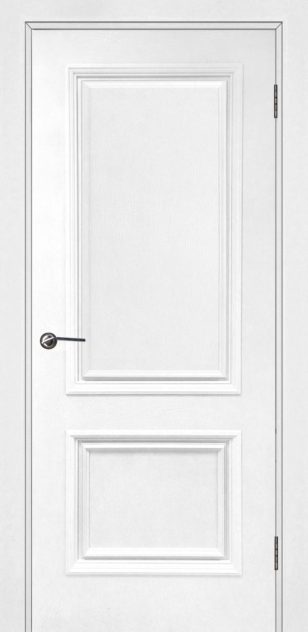 Межкомнатная дверь Сахара белая кракле ПГ