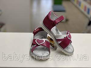 Кожаные босоножки для девочки Shagovita Беларусь р.27-29  арт. 44111