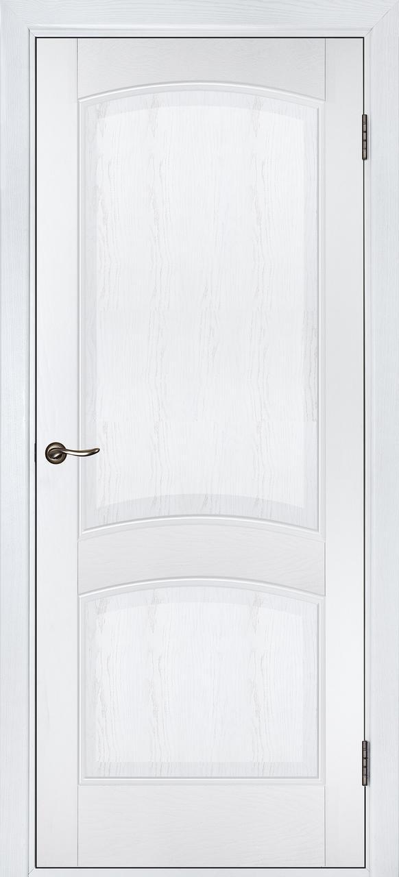 Межкомнатная дверь Капри белый дуб ПГ
