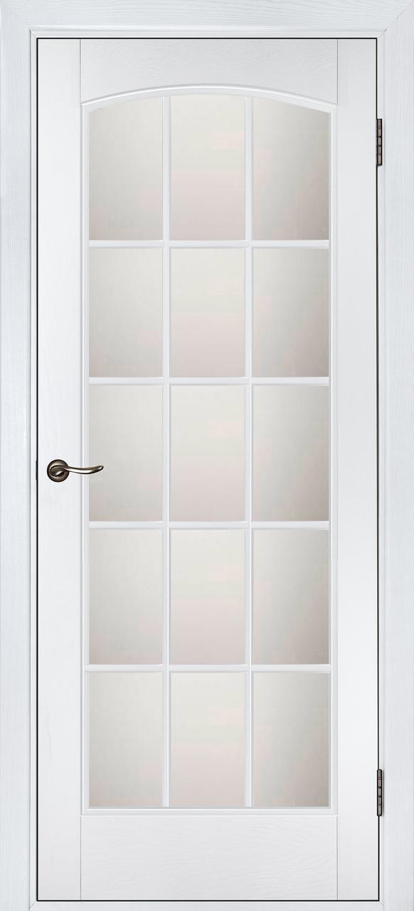 Межкомнатная дверь Капри белый дуб ПОО