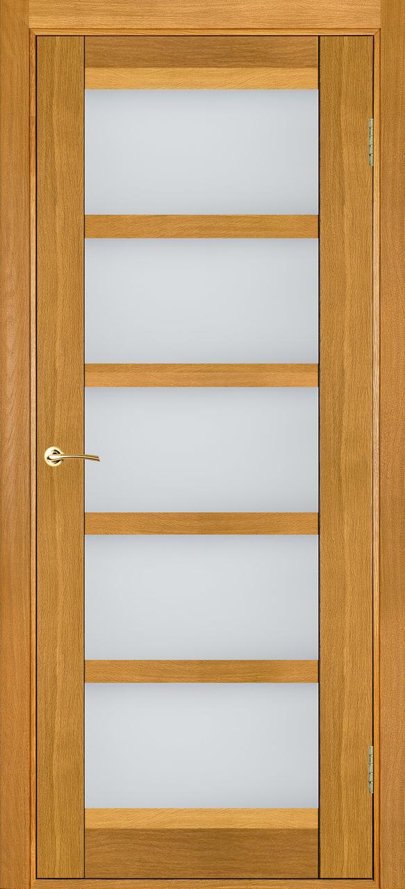 Межкомнатные двери Бристоль-У дуб светлый ПО