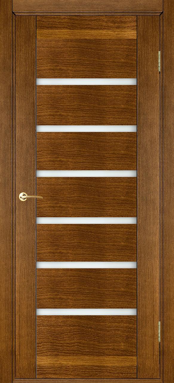 Межкомнатная дверь Бристоль орех ПГ