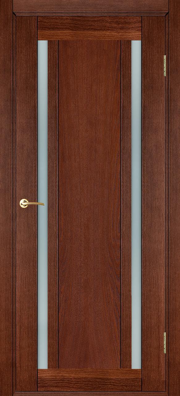 Межкомнатная дверь Дублин темный орех ПО