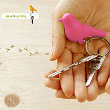 Ключниця QUALY Sparrow Keyring brown-pink QL10091, фото 2