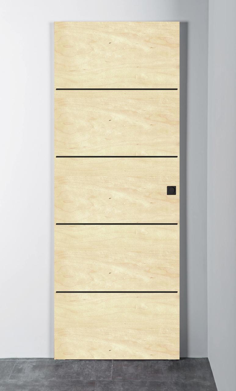Межкомнатная дверь Витрум-Флеш-2 канадский клен