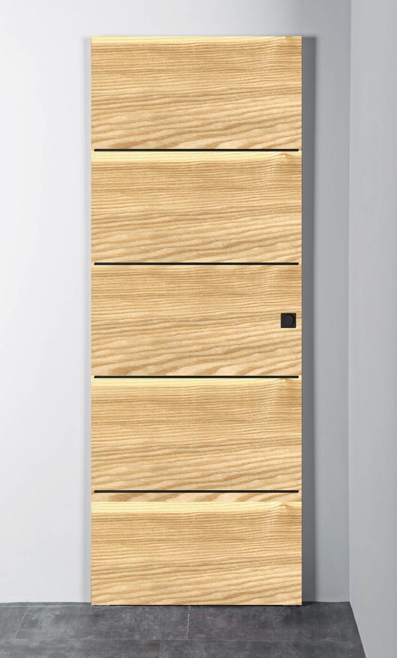 Межкомнатная дверь Витрум-Флеш-2 цветной ясень