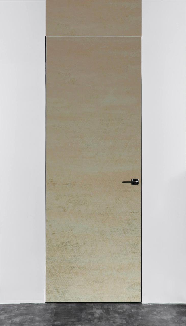 Межкомнатная дверь Флеш Metallic Used Ivory