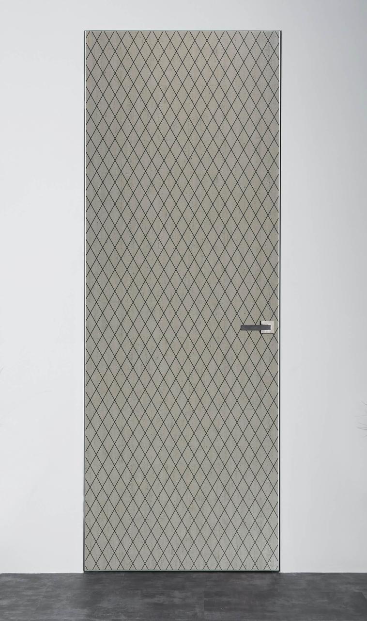 Межкомнатная дверь Флэш Арт Linea Old Platin