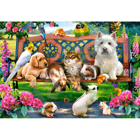 "Пазли 1000 елементів ""Домашні тварини"" Castorland 104406"
