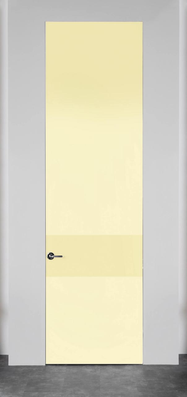 Стеклянная дверь лакобель Айвори