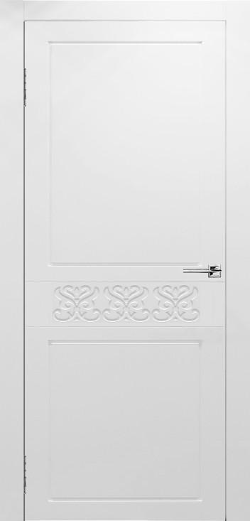 Межкомнатная дверь Сигма белая эмаль ПГ