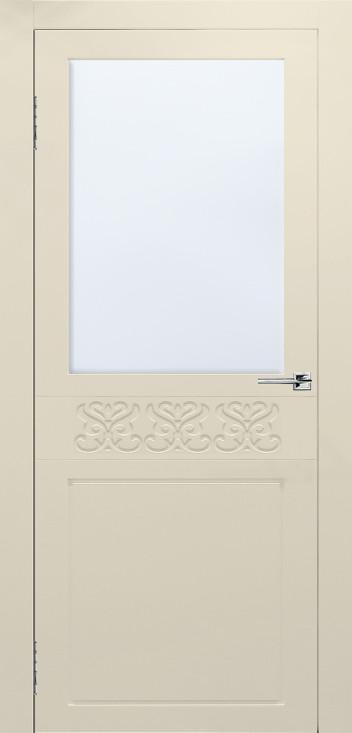 Межкомнатная дверь Сигма эмаль слоновая кость ПО