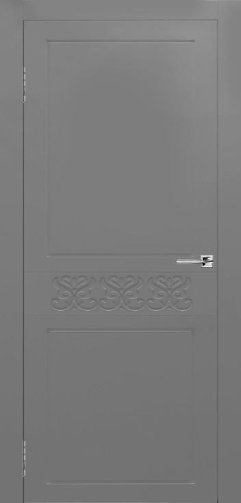 Межкомнатная дверь Сигма серая эмаль ПГ