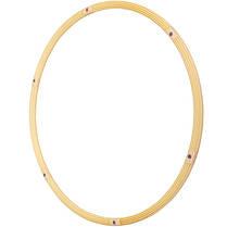 Обруч складной Хула Хуп Pro Supra Hula Hoop PEARL HU-LA HR-056 (1кг, пластик, 6 секций, d-90см), фото 3