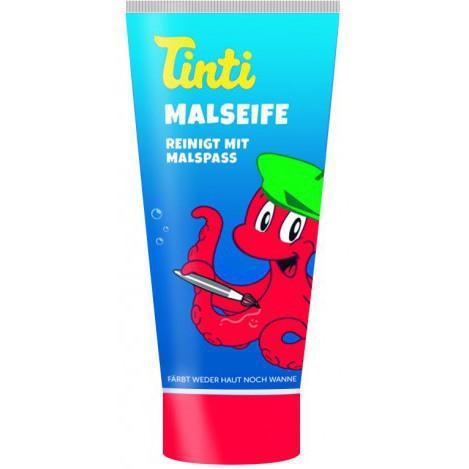 Детское мыло для рисования и творчества в ванной Tinti 70 мл, красное
