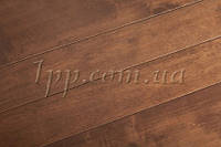 Паркет Brand Wood Гевея Американский орех лак 15*90*500-1000 мм