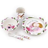 Набор детской посуды Gapchinska (5 предметов)