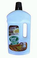 Молочко для уходом за полом и полировки Gold Drop 1л с пчелиным воском