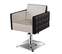 """Кресло парикмахерское """"VM 809"""" на гидравлике хром, квадрат"""