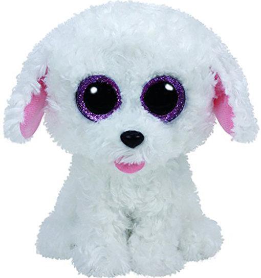 "Детская плюшевая мягкая игрушка Щенок ""Pippie"" TY Beanie Boo's, 25 см"