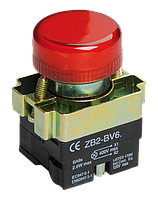 Индикатор LAY5-BU64 красного цвета d22мм IEK (BLS50-BU-K04)