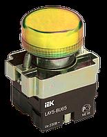 Индикатор LAY5-BU65 желтого цвета d22мм IEK (BLS50-BU-K05)