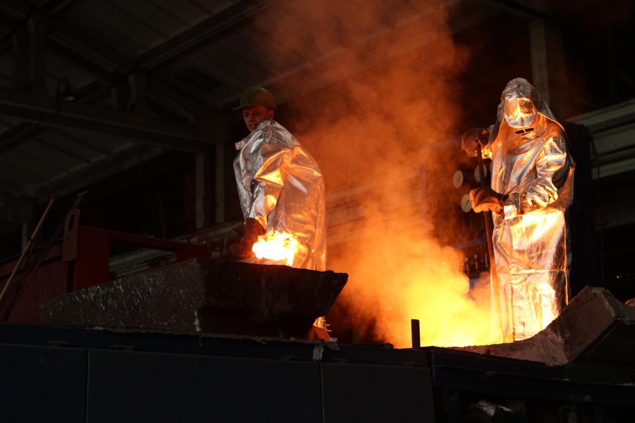 Металлическое литье металлов