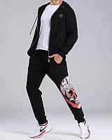 Мужской брендовый спортивный костюм Philipp Plein CK384 черный