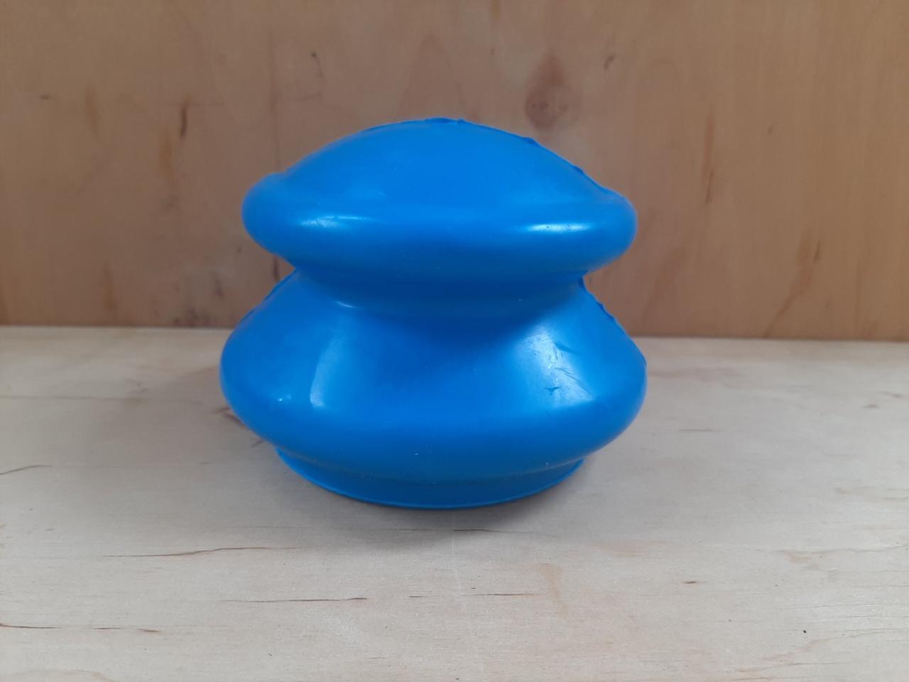 Банка резиновая для вакуумного массажа 8 см