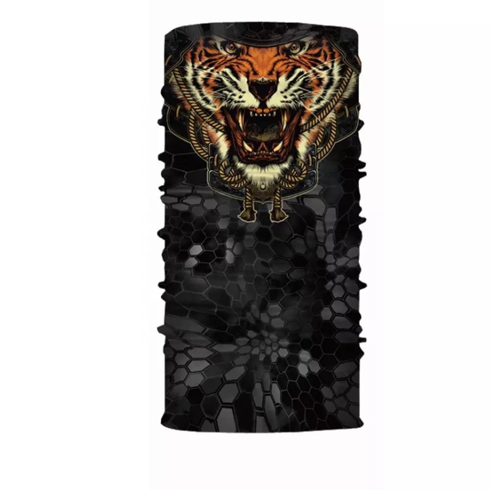 """Бафф унисекс универсальный """"Tiger"""" стильный с тигром"""
