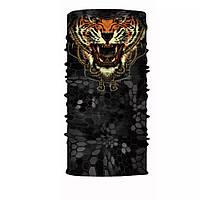 """Бафф унисекс универсальный """"Tiger"""" стильный с тигром, фото 1"""