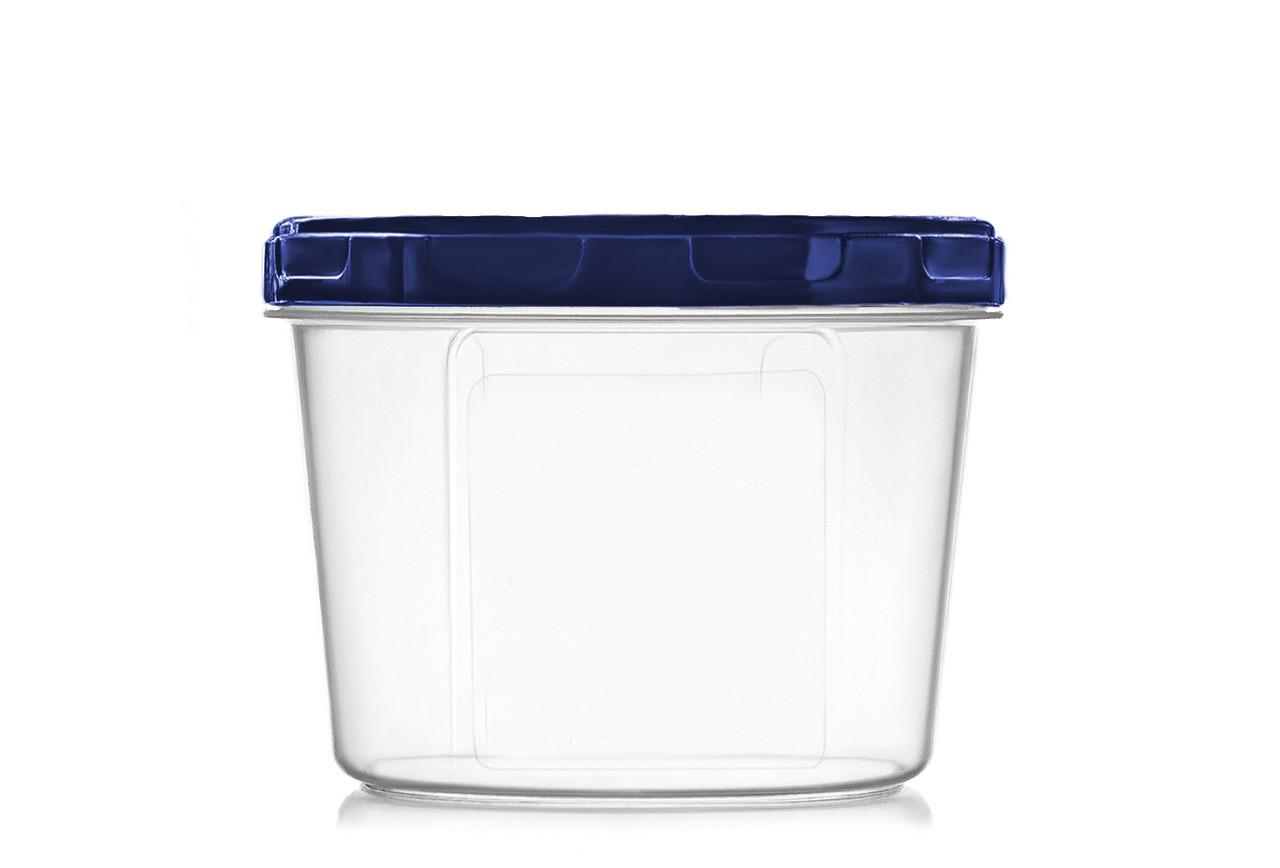 Ємність для дрібних сипучих та рідких продуктів 200 мл. синя (арт. 105и)