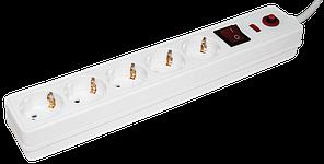 Сетевой фильтр СФ-05К-выкл. 5 мест 2Р+РЕ/5 метров 3х1мм2 IEK (WFP10-16-05-05-N)