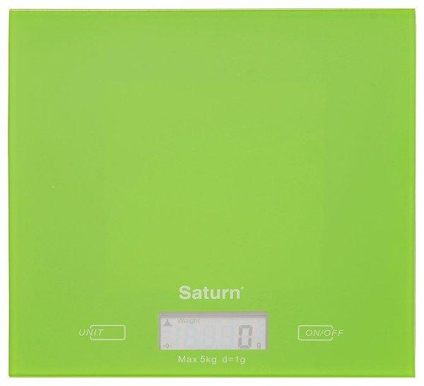 Весы кухонные Saturn KS7810green