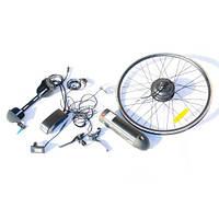 """Электро набор Vega 10,4Ач для велосипедов 350W/36V черный 26/28"""" переднее, фото 1"""