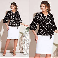 Костюм ( блузка +юбка ) ск127, фото 1