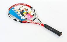 Ракетка для большого тенниса BABOLAT 121080-104 PULSION 102 (красный), фото 3