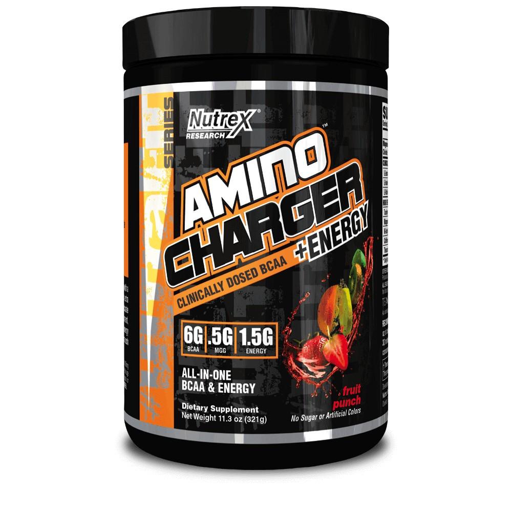 Аминокислоты + энергия Amino Charger + Energy Nutrex 321 грамм