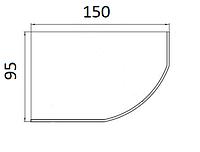 Ванни асиметричні Koller Pool 150х95