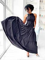 Длинное летнее платье сарафан тифани. Длинное летнее платье однотонное. Шикарное летнее платье женское длинное в пол. Нарядное длинное платье.