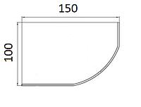 Ванни асиметричні Koller Pool 150х100