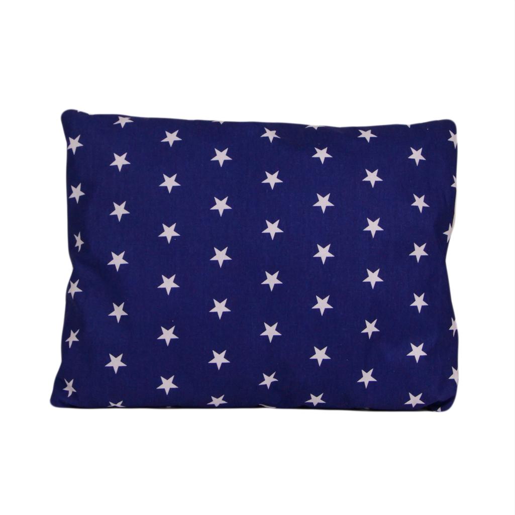 Наволочка, 45*35 см, (хлопок), (звезды на синем)