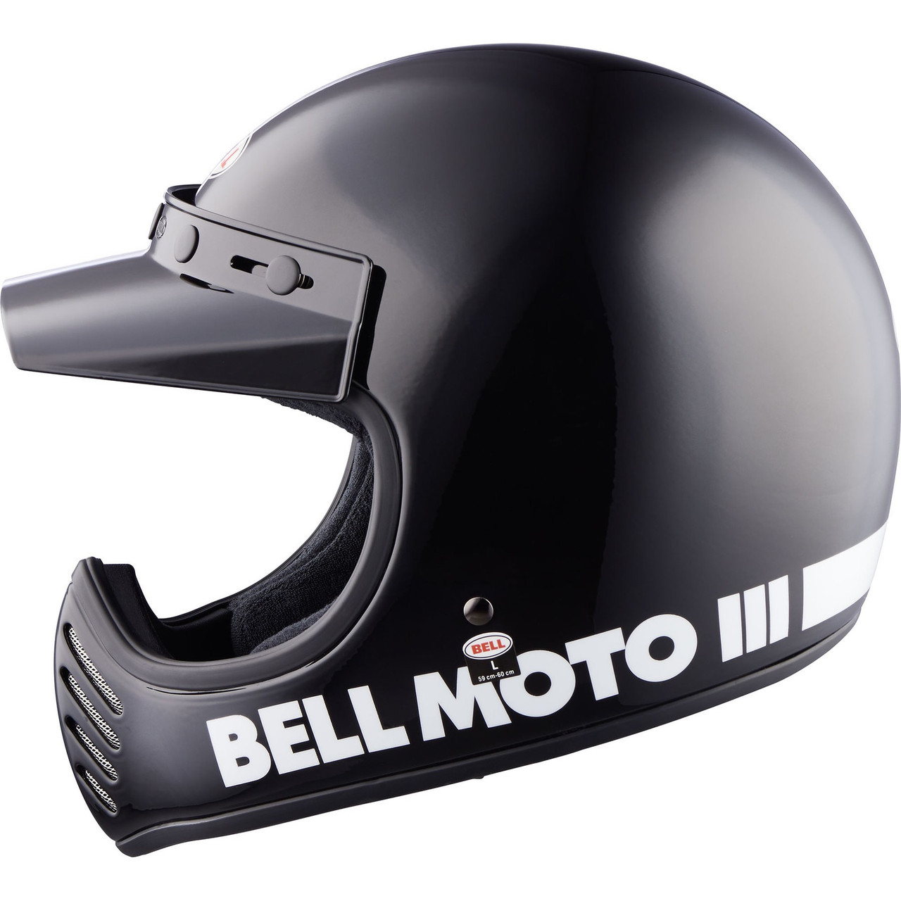 Шлем кроссовый Bell Moto-3 Black