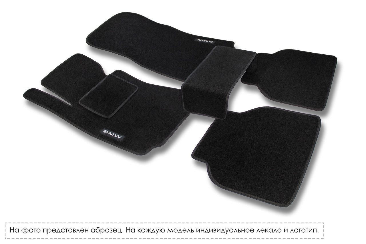 Ворсовые (тканевые) коврики в салон MERCEDES-BENZ Sprinter (три элемента) 1995 - 2000