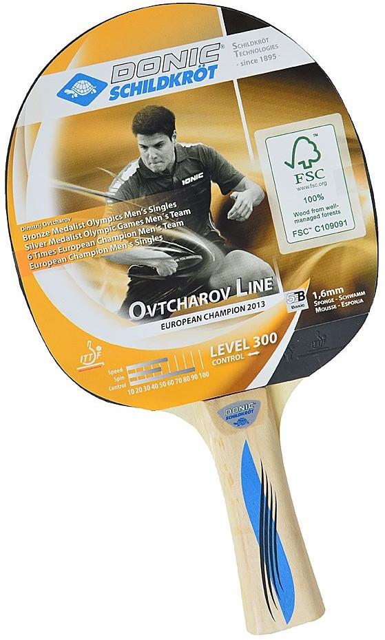Ракетка для настольного тенниса DONIC OVTCHAROV 300 (705230)