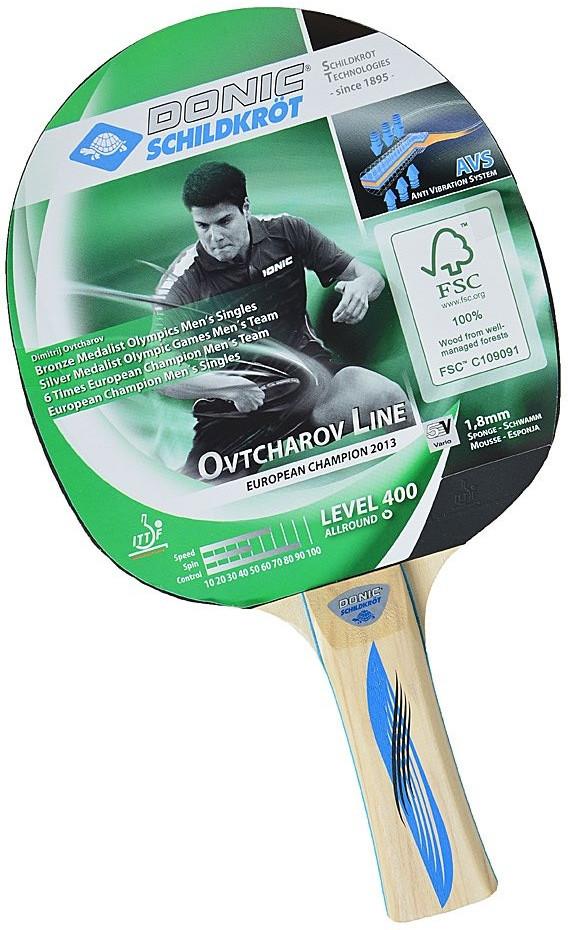 Ракетка для настольного тенниса DONIC OVTCHAROV 400 (715241)